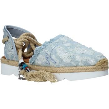 Topánky Ženy Espadrilky Manila Grace S677DU Modrá