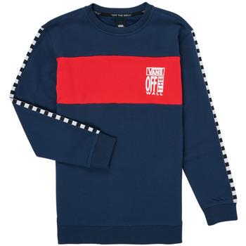 Oblečenie Dievčatá Mikiny Vans SOLAL Modrá / Červená