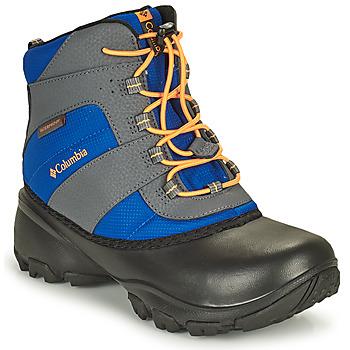 Topánky Deti Turistická obuv Columbia YOUTH ROPE TOW BOY Modrá / Oranžová