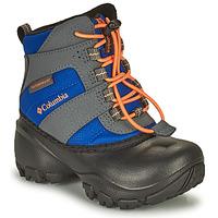 Topánky Deti Snehule  Columbia CHILDRENS ROPE TOW Modrá / Oranžová