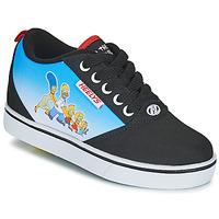 Topánky Deti Kolieskové topánky Heelys PRO 20 PRINTS Čierna / Modrá / Viacfarebná