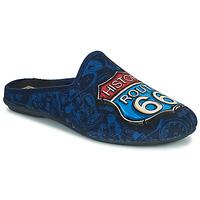 Topánky Muži Papuče Rondinaud ROUTE 67 Námornícka modrá