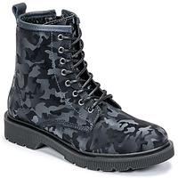 Topánky Ženy Polokozačky Fericelli PARMA Námornícka modrá
