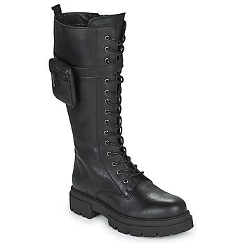 Topánky Ženy Čižmy do mesta Fericelli PISA Čierna