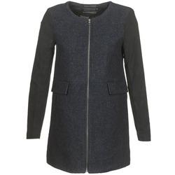 Oblečenie Ženy Kabáty Only LYDIA Námornícka modrá