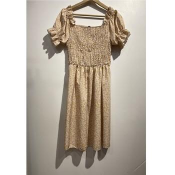Oblečenie Ženy Krátke šaty Fashion brands 53176-BEIGE Béžová