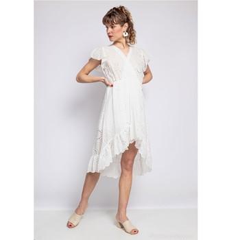 Oblečenie Ženy Krátke šaty Fashion brands U5233-BLANC Biela