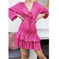 Oblečenie Ženy Krátke šaty Fashion brands 22974-FUSHIA Fuksiová