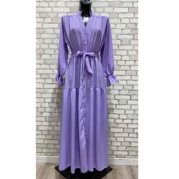 Oblečenie Ženy Dlhé šaty Fashion brands 2155-LILAS Fialová