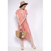 Oblečenie Ženy Krátke šaty Fashion brands 6658-CORAIL Koralová