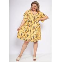 Oblečenie Ženy Krátke šaty Fashion brands DIABOLE-COLOR-ONE-JAUNE Žltá
