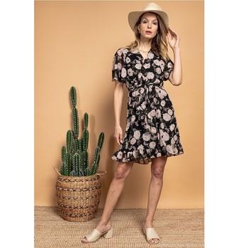 Oblečenie Ženy Krátke šaty Fashion brands 2145A-NOIR Čierna