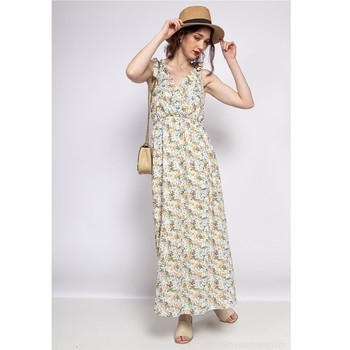 Oblečenie Ženy Krátke šaty Fashion brands R182-BEIGE Béžová