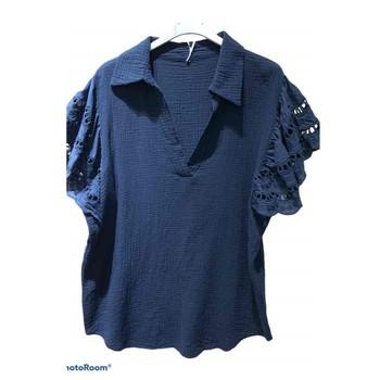Oblečenie Ženy Blúzky Fashion brands 310311-NAVY Námornícka modrá