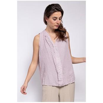 Oblečenie Ženy Blúzky Fashion brands TP25-PINK Ružová