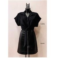 Oblečenie Ženy Blúzky Fashion brands ERMD-13819-N-BLACK Čierna