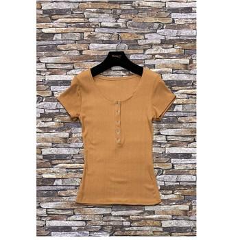 Oblečenie Ženy Blúzky Fashion brands HS-2863-BROWN Hnedá