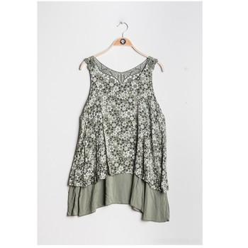 Oblečenie Ženy Blúzky Fashion brands 9673-KAKI Kaki