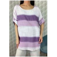 Oblečenie Ženy Blúzky Fashion brands 156485V-LILAC Fialová