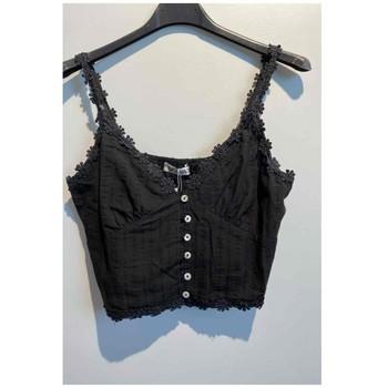 Oblečenie Ženy Blúzky Fashion brands 6133-BLACK Čierna