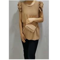Oblečenie Ženy Blúzky Fashion brands 3101-CAMEL Ťavia hnedá