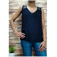Oblečenie Ženy Blúzky Fashion brands 2940-BLACK Čierna