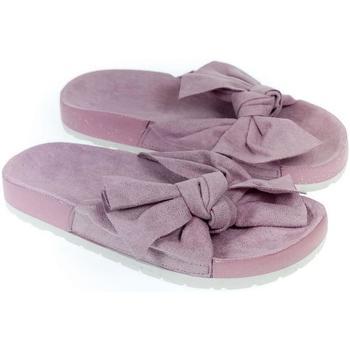Topánky Ženy Šľapky Bella Paris Dámske fialové šľapky ORLINA PARIS fialová