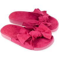 Topánky Ženy Šľapky Bella Paris Dámske ružové šľapky ORLINA PARIS cyklamenová