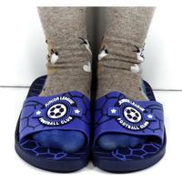 Topánky Deti športové šľapky Wink Detské modré šľapky FOOTBALL modrá
