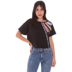 Oblečenie Ženy Tričká s krátkym rukávom Ea7 Emporio Armani 3KTT40 TJ39Z čierna