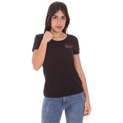 Oblečenie Ženy Tričká s krátkym rukávom Ea7 Emporio Armani 8NTT65 TJ28Z čierna