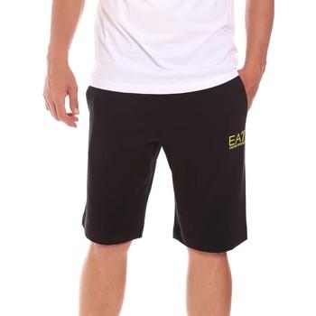Oblečenie Muži Šortky a bermudy Ea7 Emporio Armani 3KPS59 PJ05Z čierna