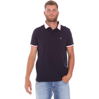 Oblečenie Muži Polokošele s krátkym rukávom Trussardi 52T00491-1T003600 Modrá