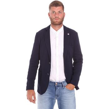 Oblečenie Muži Saká a blejzre Sseinse GAE716SS Modrá