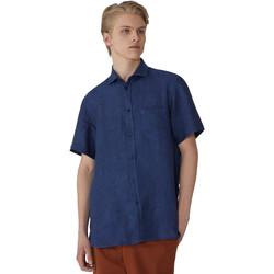 Oblečenie Muži Košele s krátkym rukávom Trussardi 52C00213-1T002248 Modrá