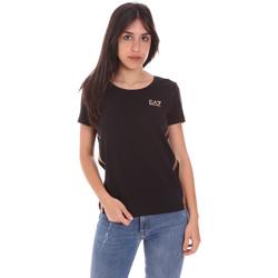 Oblečenie Ženy Tričká s krátkym rukávom Ea7 Emporio Armani 3KTT51 TJ9VZ čierna