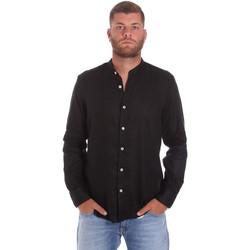 Oblečenie Muži Košele s dlhým rukávom Refrigiwear RM0C10100LI9110 čierna