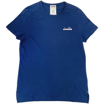 Oblečenie Ženy Tričká s krátkym rukávom Diadora 102175882 Modrá