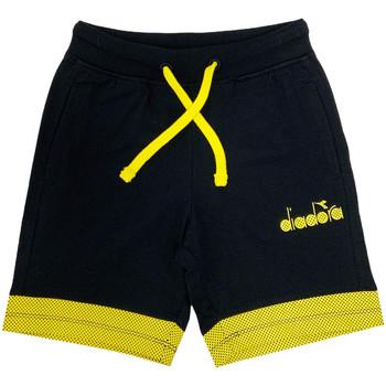 Oblečenie Deti Šortky a bermudy Diadora 102175908 čierna