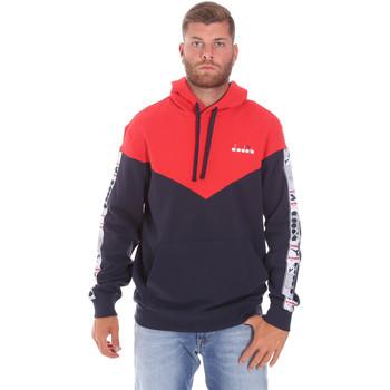 Oblečenie Muži Mikiny Diadora 502176092 Červená