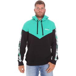 Oblečenie Muži Mikiny Diadora 502176092 čierna