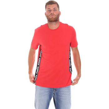 Oblečenie Muži Tričká s krátkym rukávom Diadora 502176631 Červená