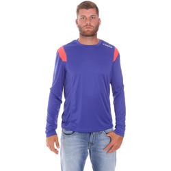 Oblečenie Muži Tričká s dlhým rukávom Diadora 102175720 Modrá