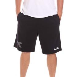Oblečenie Muži Šortky a bermudy Diadora 102175856 čierna