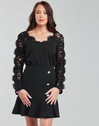 Oblečenie Ženy Blúzky Moony Mood PABSCONE Čierna