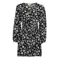 Oblečenie Ženy Krátke šaty Moony Mood PAPIS Čierna / Biela