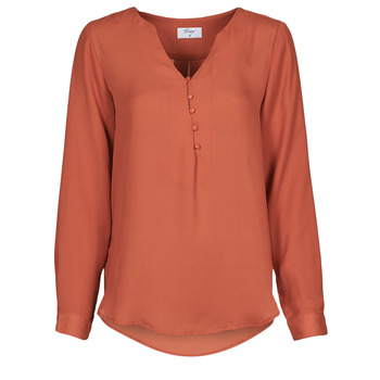 Oblečenie Ženy Blúzky Betty London PISSINE Červená hrdzavá