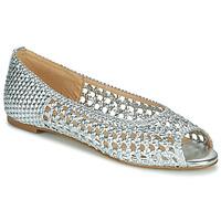 Topánky Ženy Sandále Cosmo Paris HAYANE Strieborná