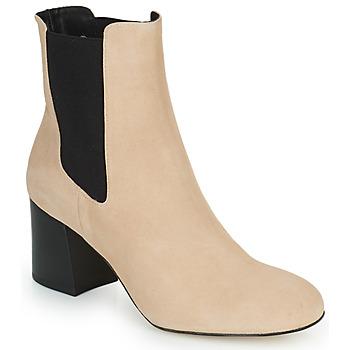 Topánky Ženy Čižmičky Cosmo Paris LACADO 2 Béžová