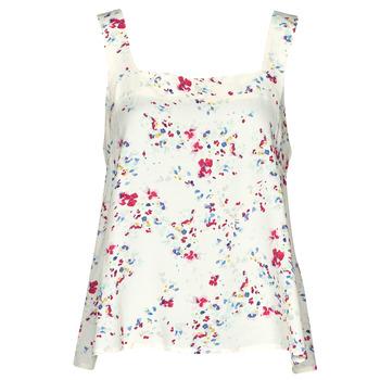 Oblečenie Ženy Blúzky Vero Moda VMMILA Béžová